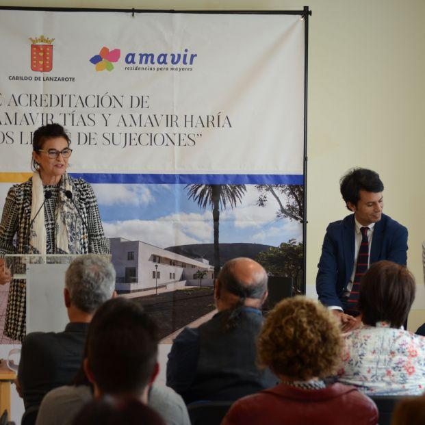 """CEOMA acredita a las residencias de Amavir en Lanzarote como """"libres de sujeciones"""""""