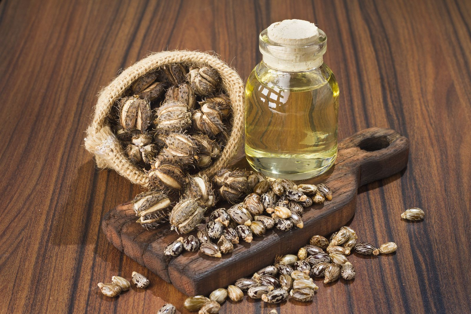 Se puede usar el aceite de ricino para cocinar?