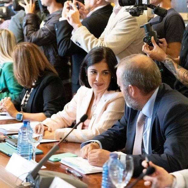 EuropaPress 2394721 La consejera de Economía Conocimiento y Empleo del Gobierno de Canarias Carolina Darias