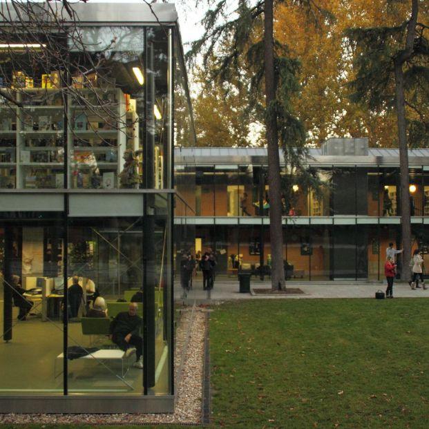 Biblioteca Eugenio Trias.