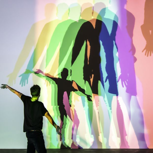 Olafur Eliasson Your uncertain shadow colour 2010