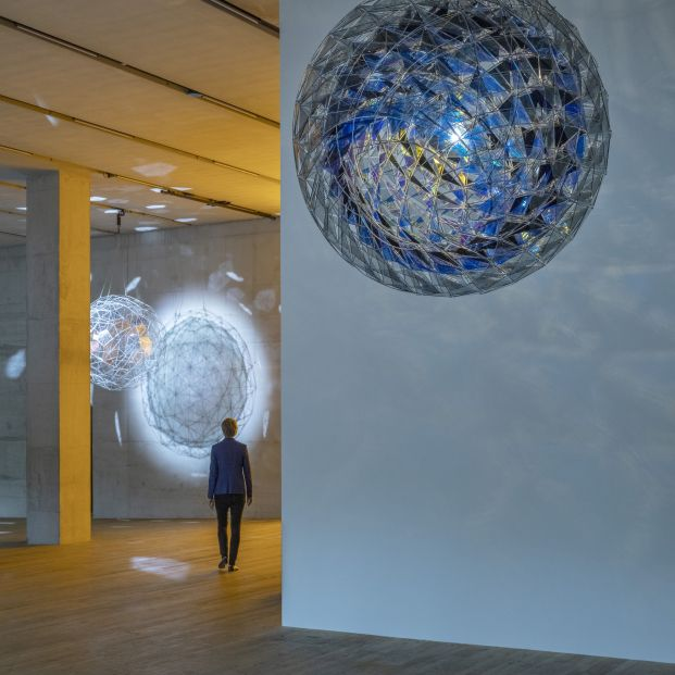 Installation view Olafur Eliasson In real life 122314