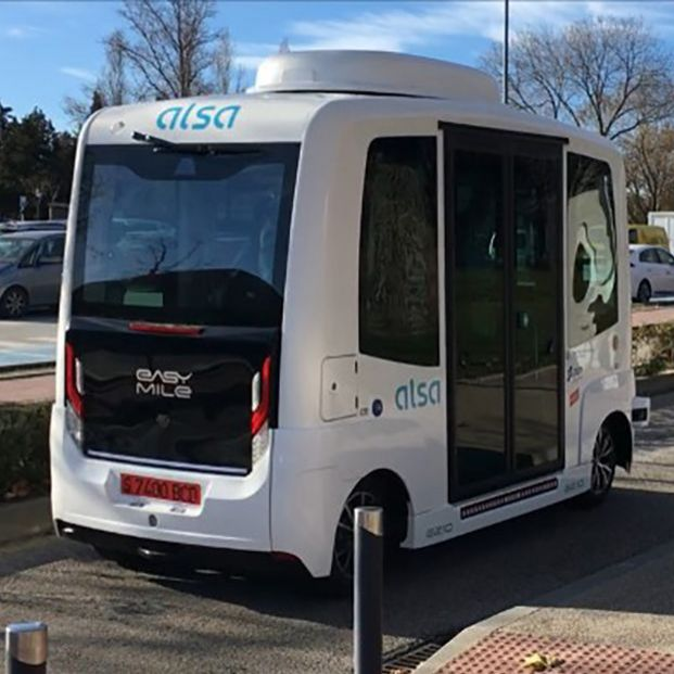 Circularán autobuses sin conductor en Madrid a partir de febrero