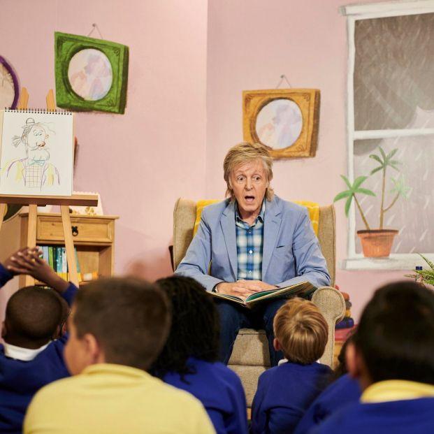 "Paul McCartney ahora escribe libros infantiles: ""¡Ey, superabuelo!"""