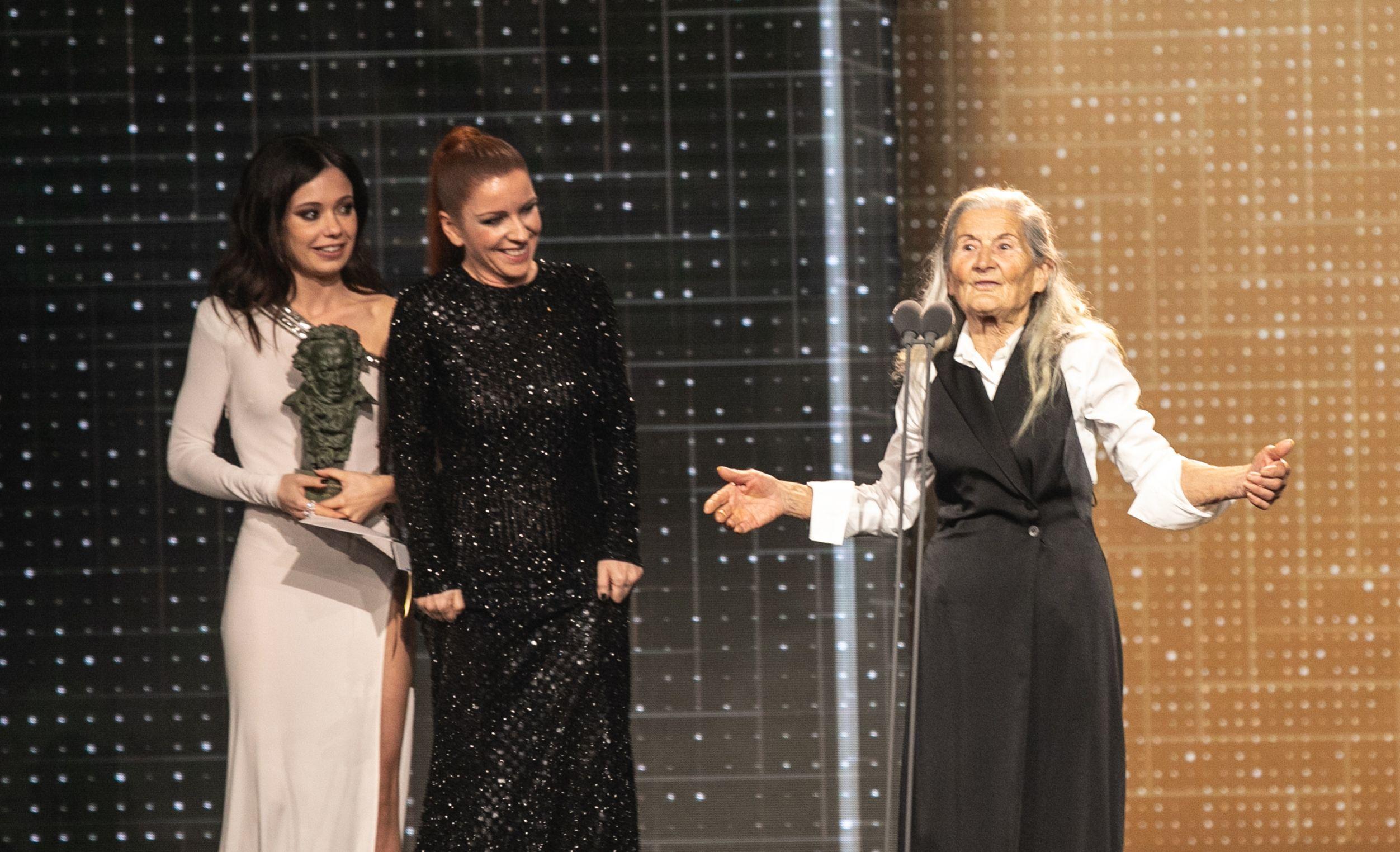 Ana Nominada Actriz Revelación Cine Porno benedicta sánchez, de 84 años, gana el goya a la mejor actriz revelación