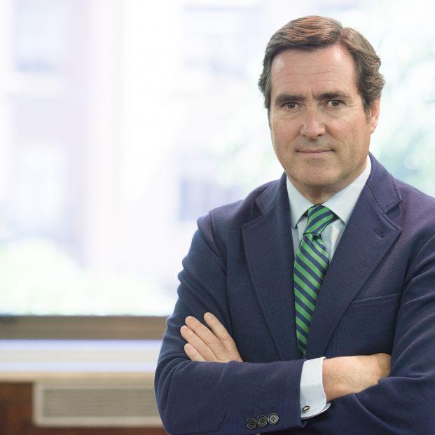 """Antonio Garamendi (CEOE): """"Los ingresos del Impuesto de Sociedades ayudan a pagar las pensiones"""""""