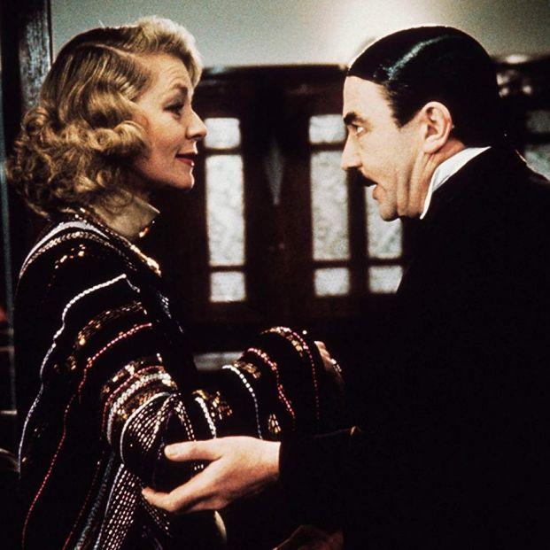 Lauren Bacall y Albert Finney 'Asesinato en el Orient Express', de Agatha Christie (1974) (Paramount Pictures)