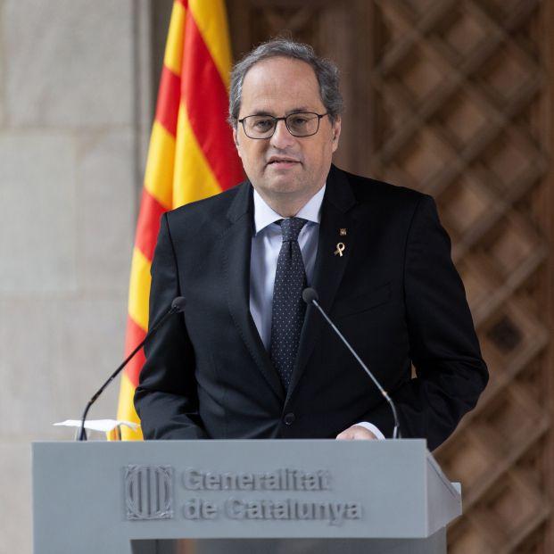 Torra anuncia elecciones anticipadas en Cataluña sin fijar una fecha