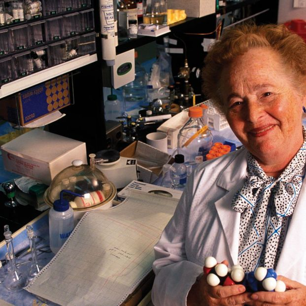 Gertrude B. Elion, mujer inventora (Getty Images)