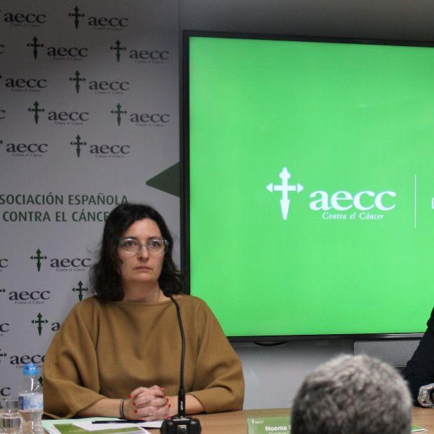 El cáncer nos cuesta en España 19.300 millones de euros cada año. Noema Paniagua directora general AECC Foto. EuropaPress