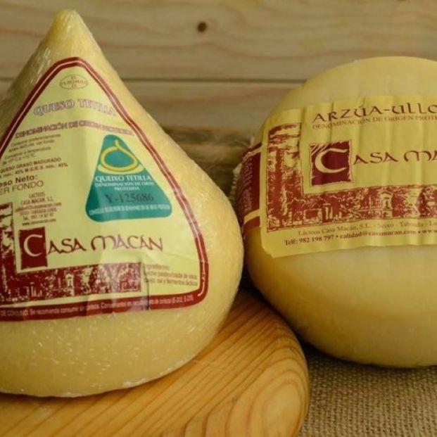 Sanidad ordena retirar los quesos y el resto de productos de Lacteos Casa Macán
