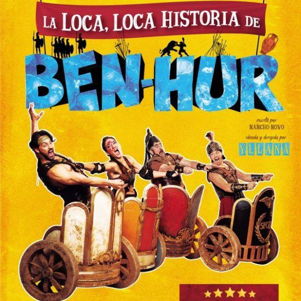 Cartel de 'Ben-Hur' (Teatro La Latina)