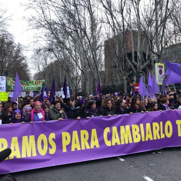 8-M, con M de mujer: Las reivindicaciones de una mujer veterana y activista