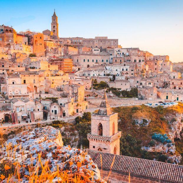 Matera, Basilicata, en Italia (BigStock)