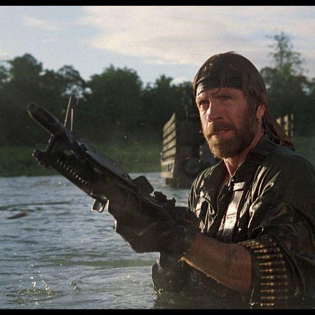 Grandes héroes del cine de acción: Chuck Norris en Desaparecido en combate