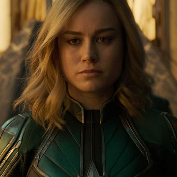 Brie Larson en 'Capitana Marvel' (2018) (Marvel Studios)