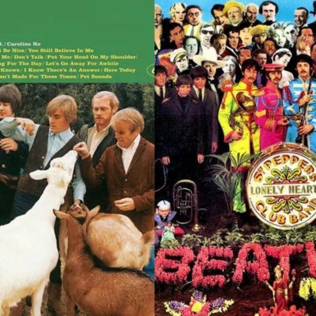 'Pet Sounds' y 'Sgt. Pepper's'