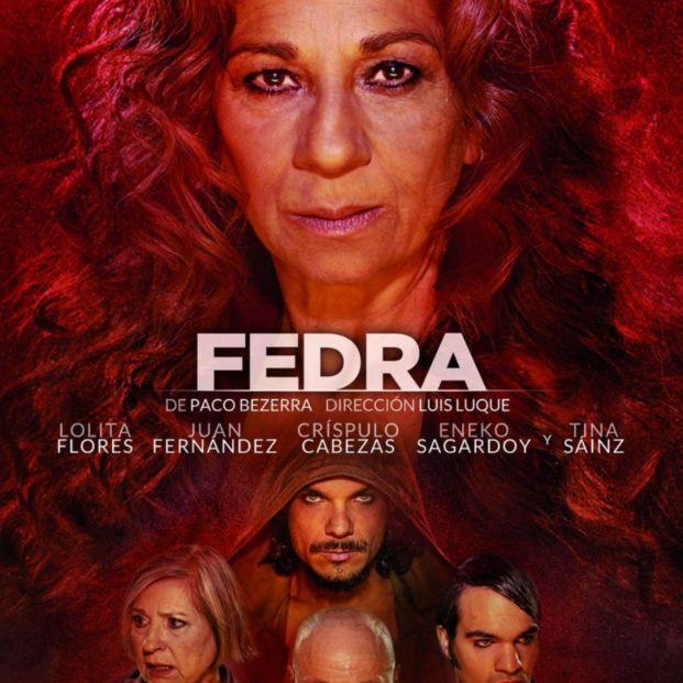 Cartel de la obra 'Fedra', con Lolita