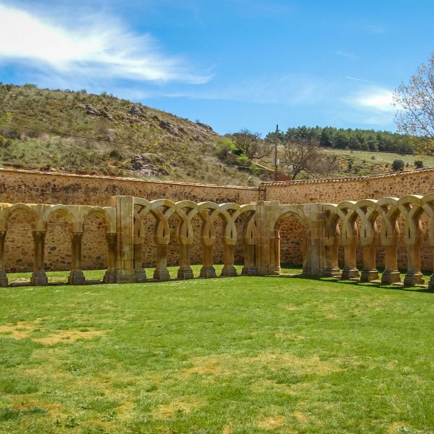 Claustro de San Juan de Duero Soria