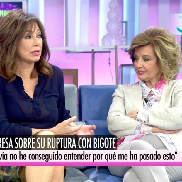 María Teresa Campos y Ana Rosa Quintana: el cara a cara más esperado y más decepcionado