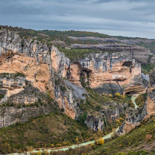 Visita al bello entorno natural del cañón del río Vero en la provincia de Huesca