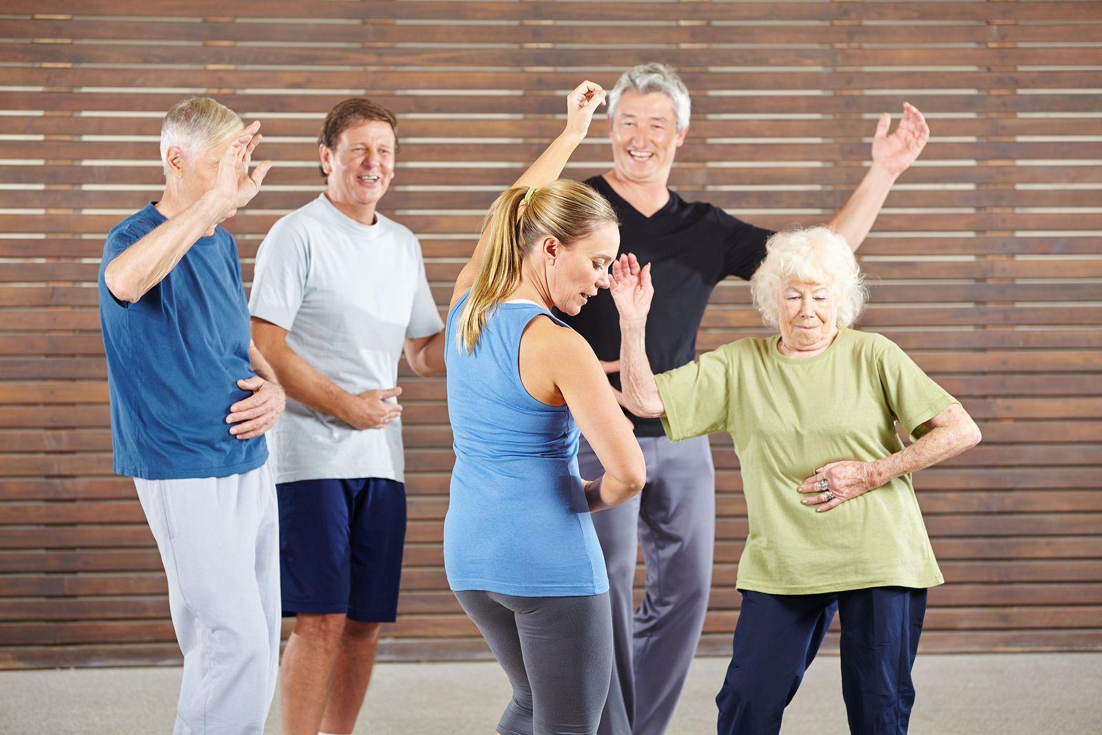 Beneficios Del Baile Terapéutico En Personas Mayores
