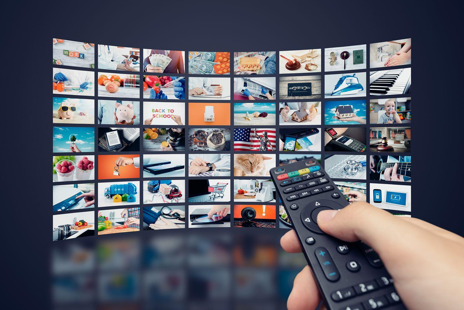 Diversos canales de televisión reproduciéndose simultáneamente