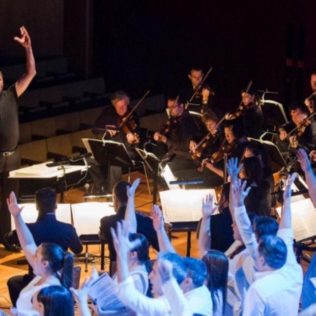 Actuación International Bach Festival en Fitur