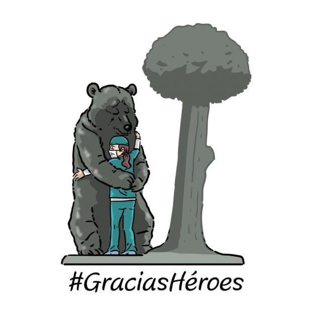 #GraciasHéroes: El merecido reconocimiento al personal sanitario que batalla contra el coronavirus