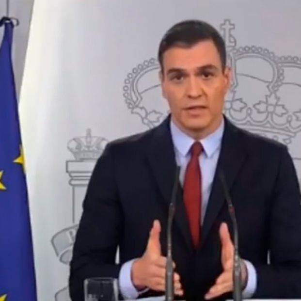 """Sánchez: """"En la crisis económica nos salvaron los mayores y en esta son ellos los que nos necesitan"""""""