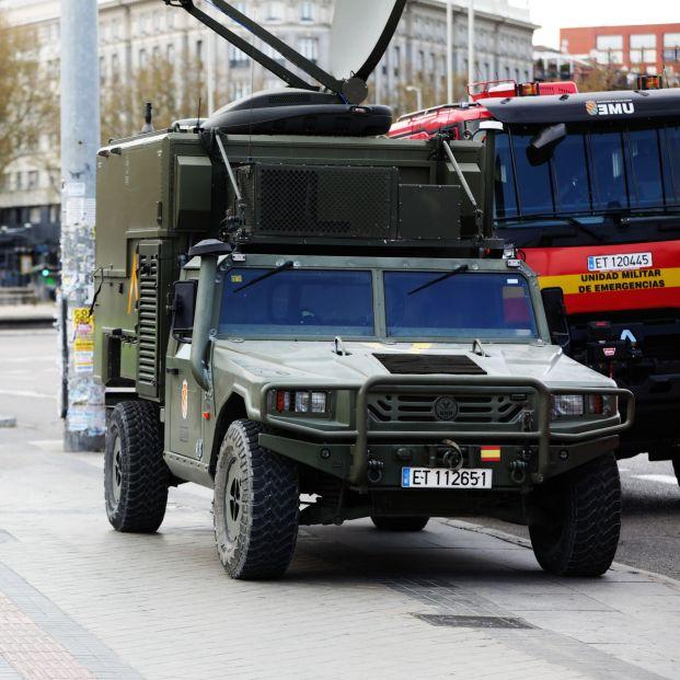 Defensa despliega a la UME en las calles en las ciudades de mayor riesgo de propagación del virus