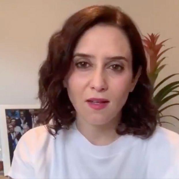 Isabel Díaz Ayuso da positivo en Coronavirus