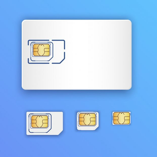 SIM, NanoSIM o MicroSIM. ¿Qué tarjeta usa mi teléfono? (big stock)