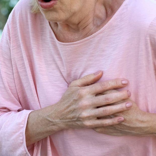 Angina de pecho en personas mayores
