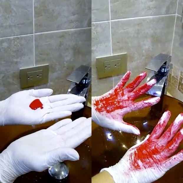 Coronavirus: El vídeo que demuestra que sigues lavándote mal las manos