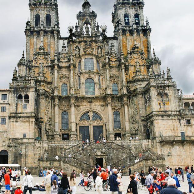Plazas mayores más bonitas: Obradoiro(bigstock)