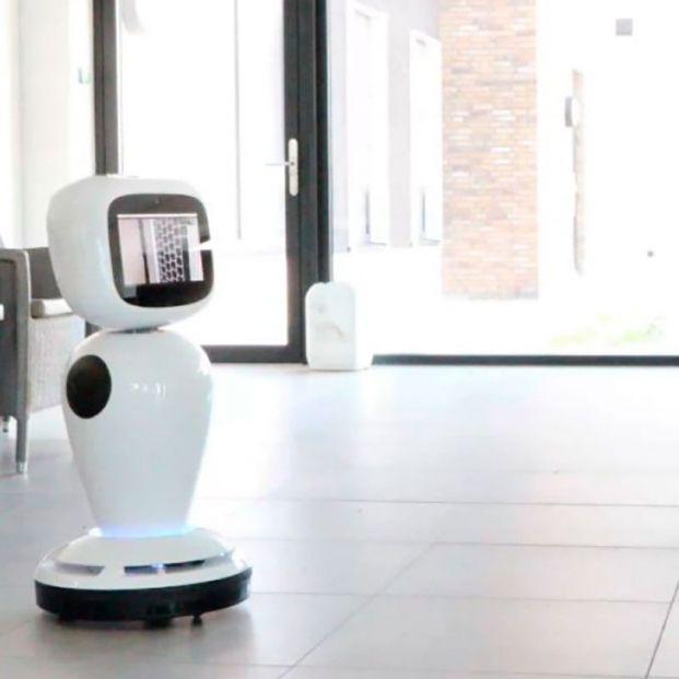 Robots para acompañar a los mayores durante el aislamiento por el coronavirus en Asturias