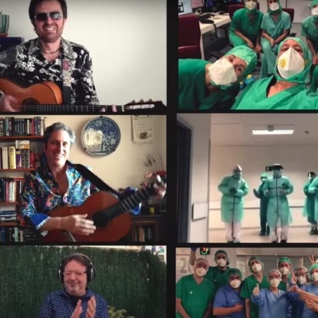 VÍDEO I Los Manolos reversionan 'Amigos para siempre' en homenaje a los sanitarios