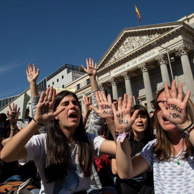 Decenas de colectivos de jóvenes españoles se han sumado a la huelga contra el cambio climático