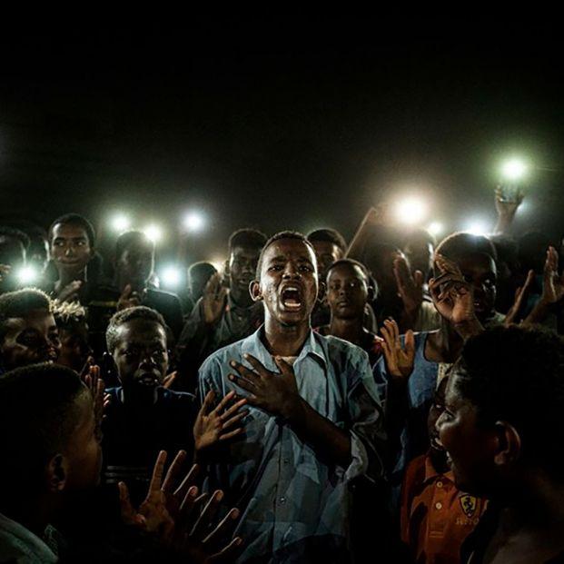 La mejor foto del 2020 es la imagen de un apagón en Jartum (Sudán)