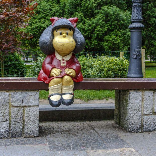 Mafalda cumple años (bigstock)