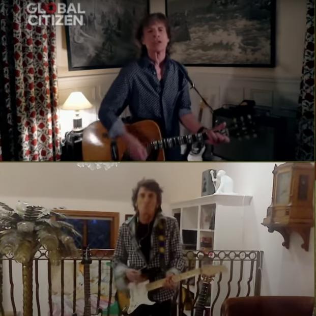 VÍDEO The Rolling Stone, Paul McCartney y Elton John en One World: #TogetherAtHome