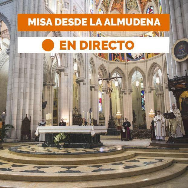 Sigue en directo la misa de hoy lunes 20 de abril (19:00 horas)
