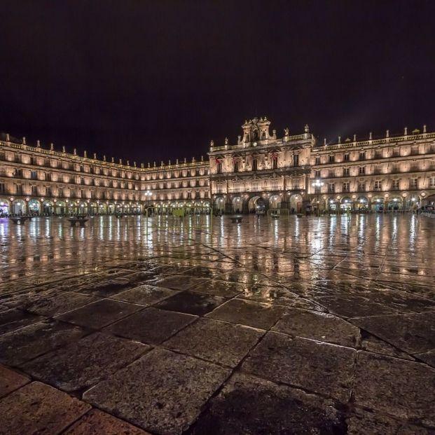 La ciudad de Salamanca se engalana para vivir sus fiestas patronales