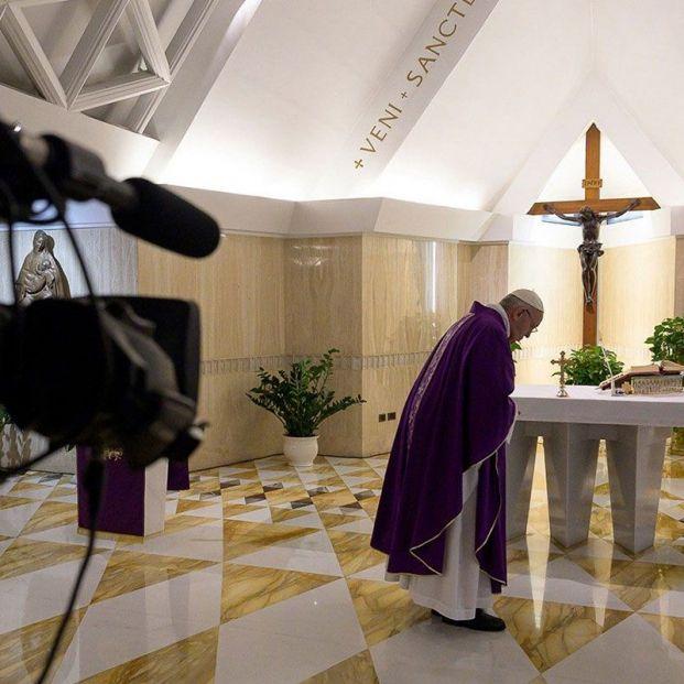 Ver en directo la misa del Papa Francisco de este domingo 26 de abril