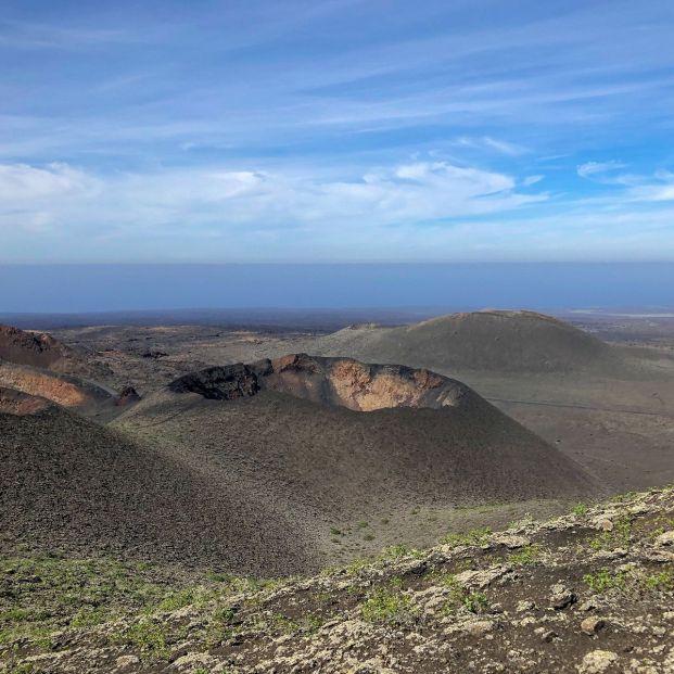 Ruta de los volcanes Lanzarote (bigstock)