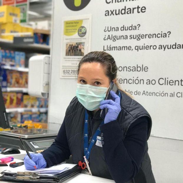Carrefour venderá mascarillas en todos sus centros de Madrid
