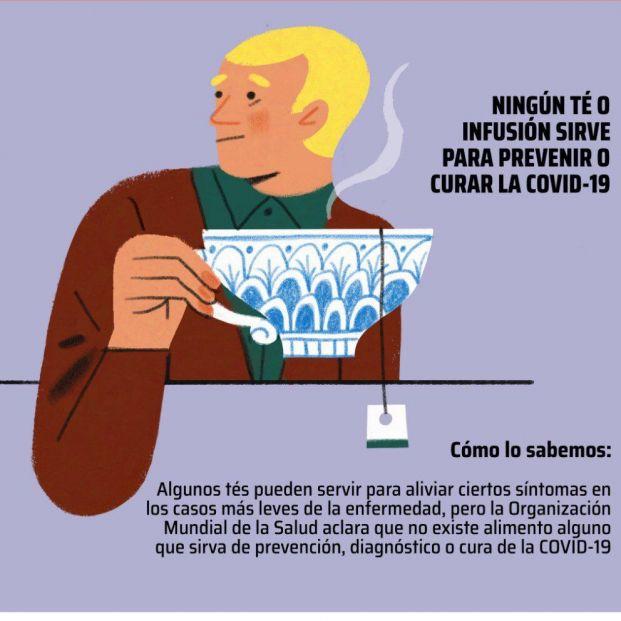 Falsos remedios (ilustrados) contra el coronavirus