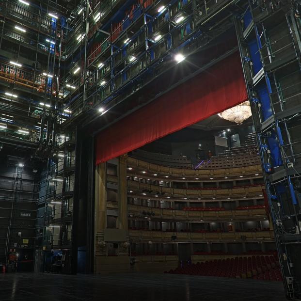 El Teatro Real por dentro