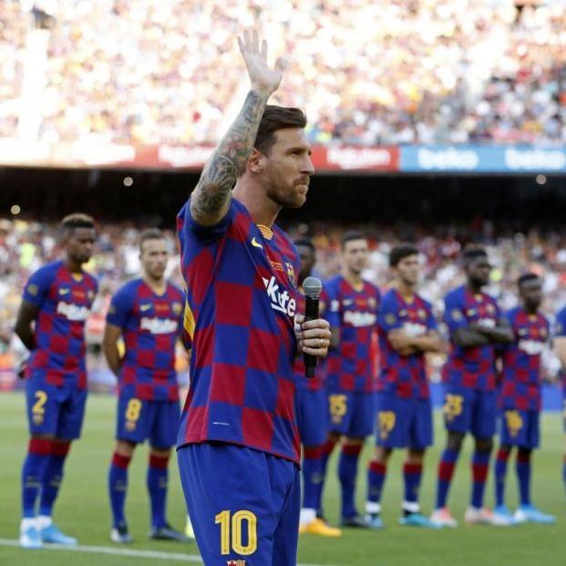 Las 10 buenas noticias del coronavirus de hoy 5 de mayo. Foto Leo Messi: Europa Press